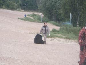 """06.06 - """"Трудовой десант на пляже"""""""