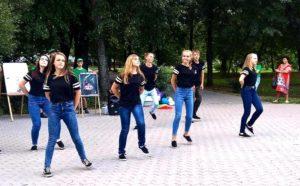 """10.08 - """"Акция мы-за здоровый образ жизни"""""""