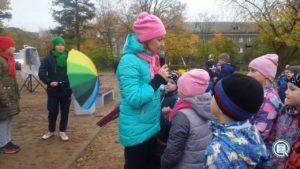 12.10. -  в Сясьстрое торжественно открыли детскую площадку по улице Советская у домов 30-32.