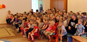 """Гастроли Фунтика , в детском саду """"Вишенка"""" Друзей становится всё больше и больше"""