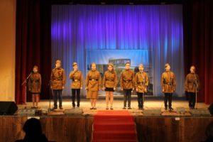 Юные журналисты коллектива «Открытая дверь» МБУ СГДК поделились впечатлениями о фестивале «Песня в военной шинели»