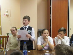 Круглый стол: встреча «юных исследователей» и юных журналистов